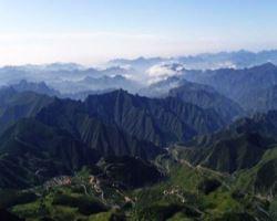 野三坡白草畔景