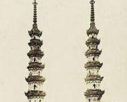 天宁寺双塔