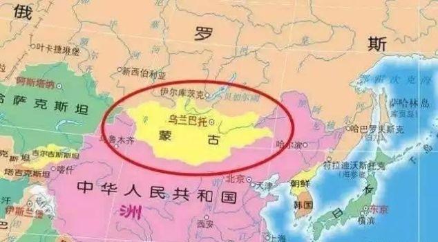 曾经是中国领土的六