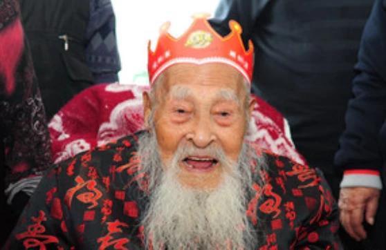 中国传奇长寿老人,从