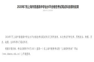 2020上海高中
